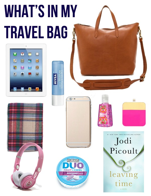 What's In My Travel Bag - Life With Emily