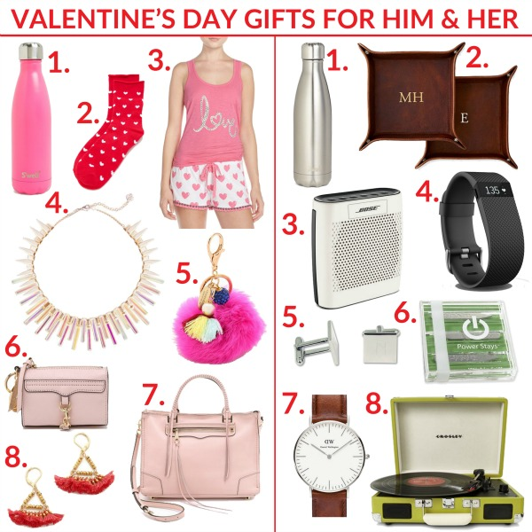 VALENTINES GIFTS FOR HIM AND HER