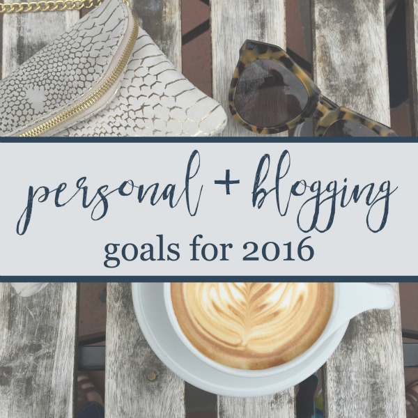personal blogging goals for 2016