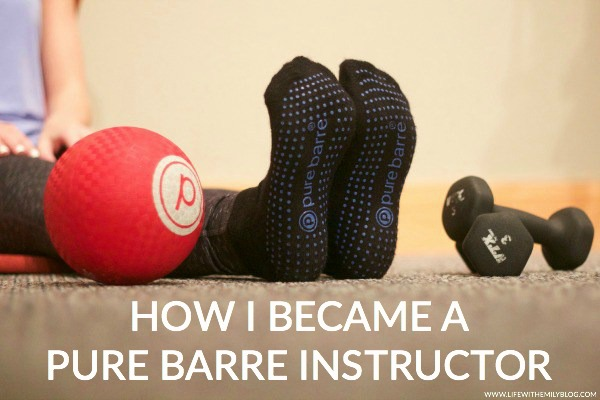 becoming a pure barre instructor