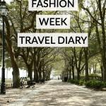 Charleston Fashion Week Travel Diary