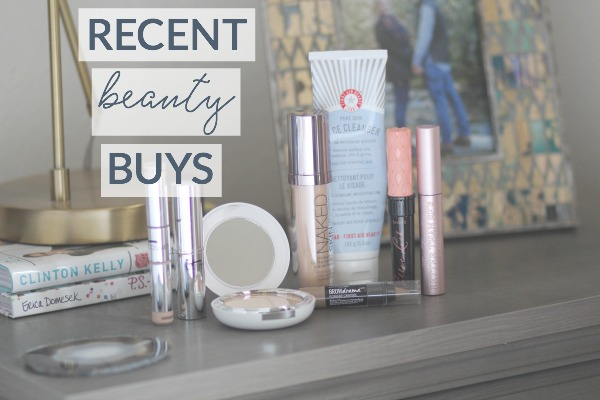 recent beauty buys