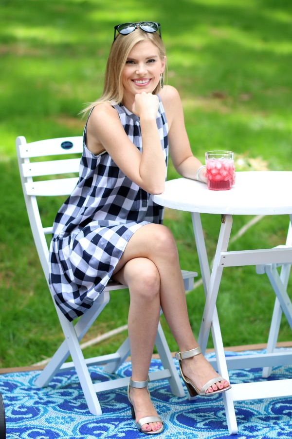 Ann Taylor Loft Gingham Dress 3