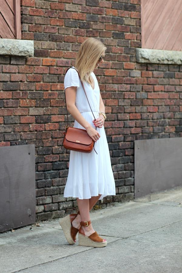 e0deb6c0e57b WAYF Blouson Midi Dress White 6