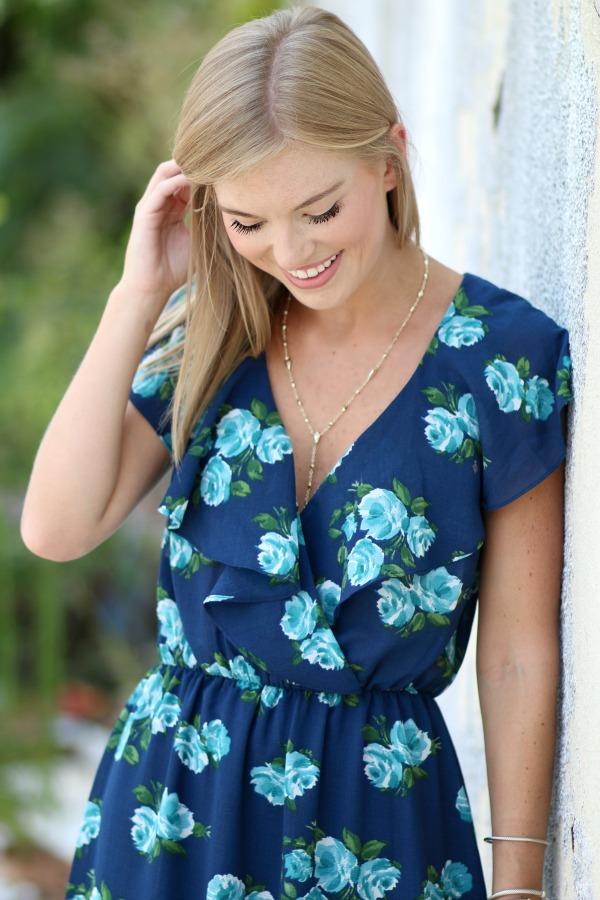 WAYF floral midi dress 11
