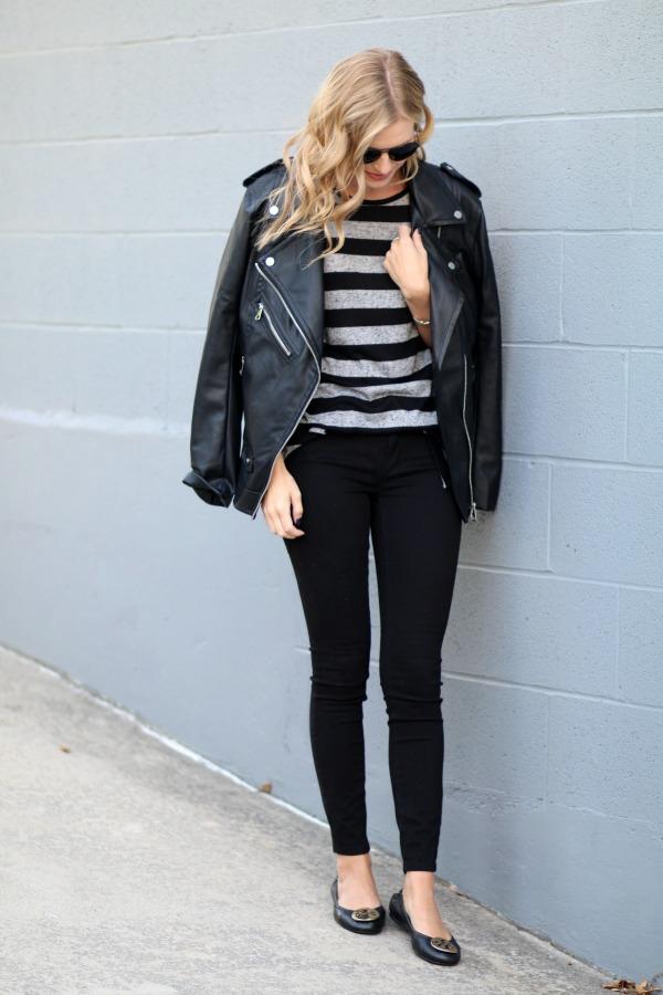 faux leather jacket under $100