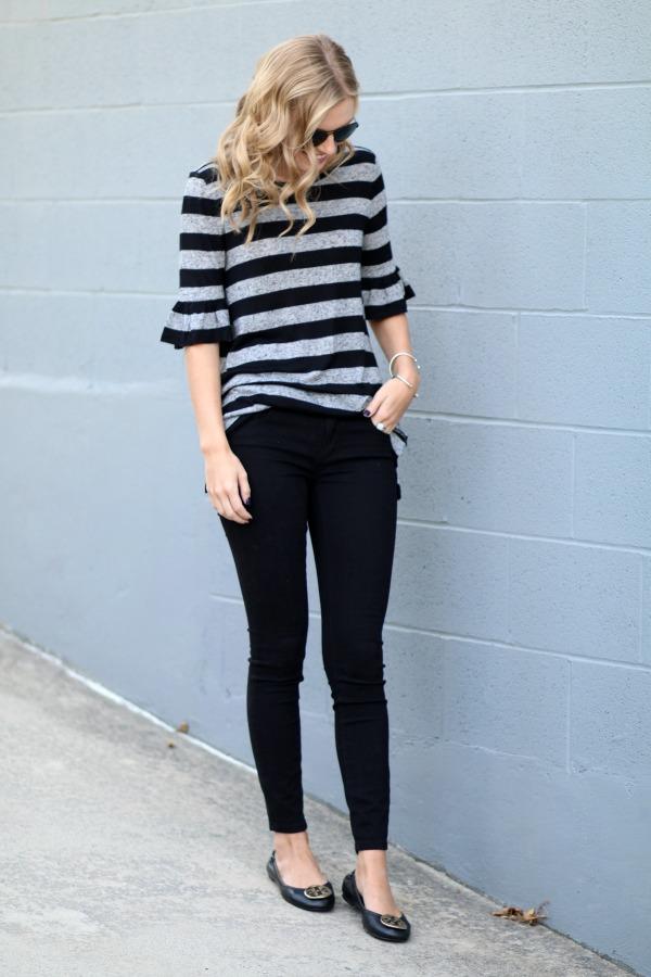 loft striped shirt