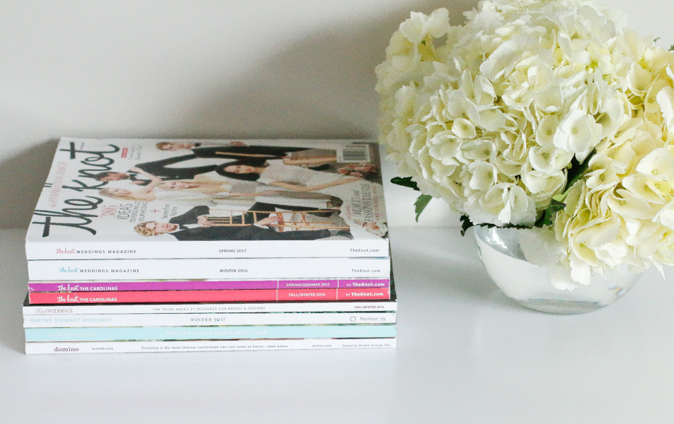favorite wedding magazines