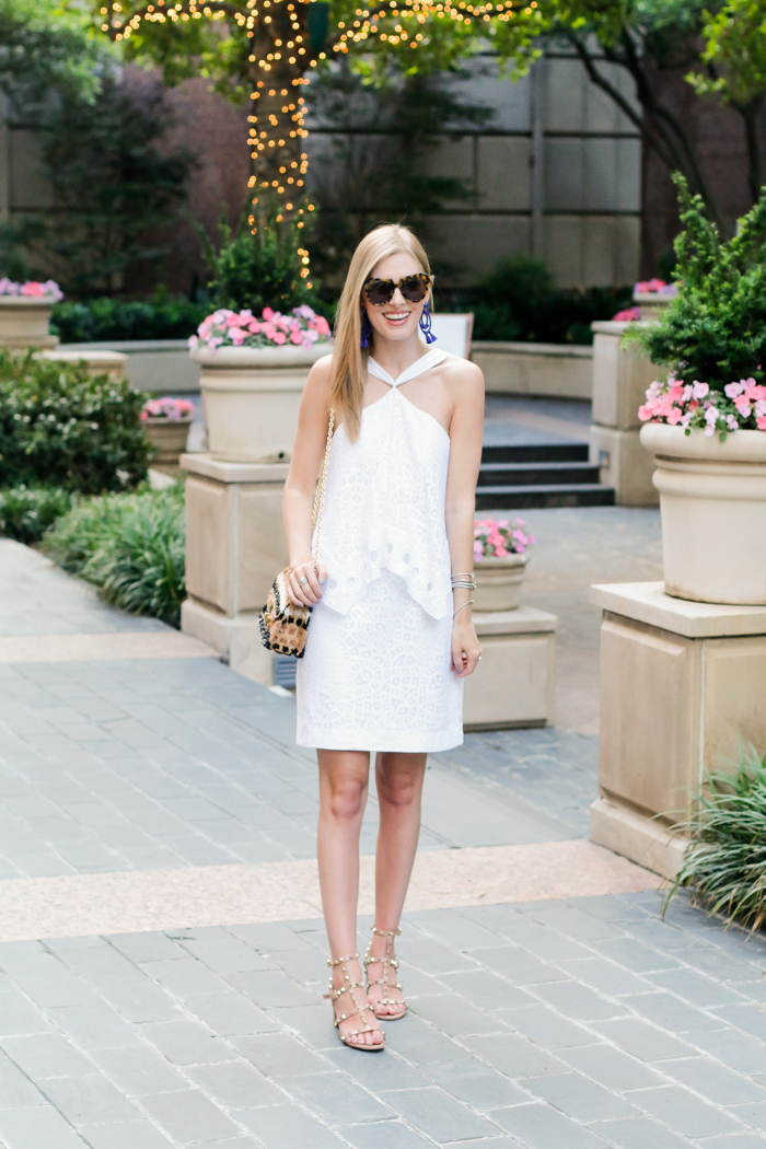 ce9b94aec9a16 The Cutest Little White Dress for Summer