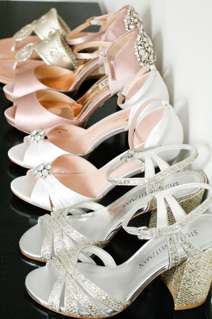 Wedding Wednesday: Choosing Wedding Shoes