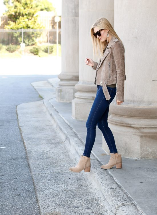 fall outfit ideas with booties