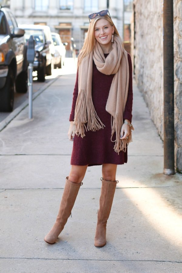 Abercrombie And Fitch Fit And Flare Sweater Dress On Life