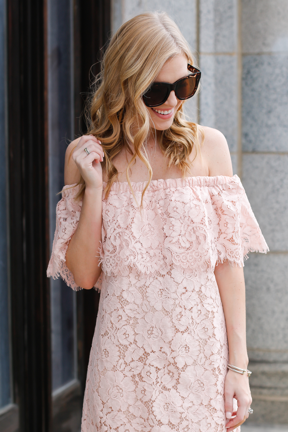 off the shoulder Dress for spring