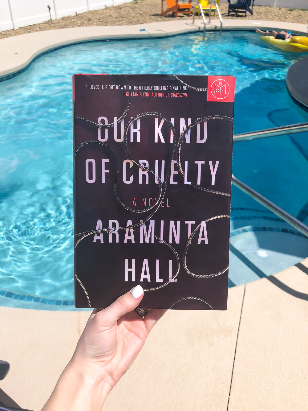 our kind of cruelty book of the month
