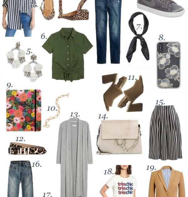 pre fall favorite items
