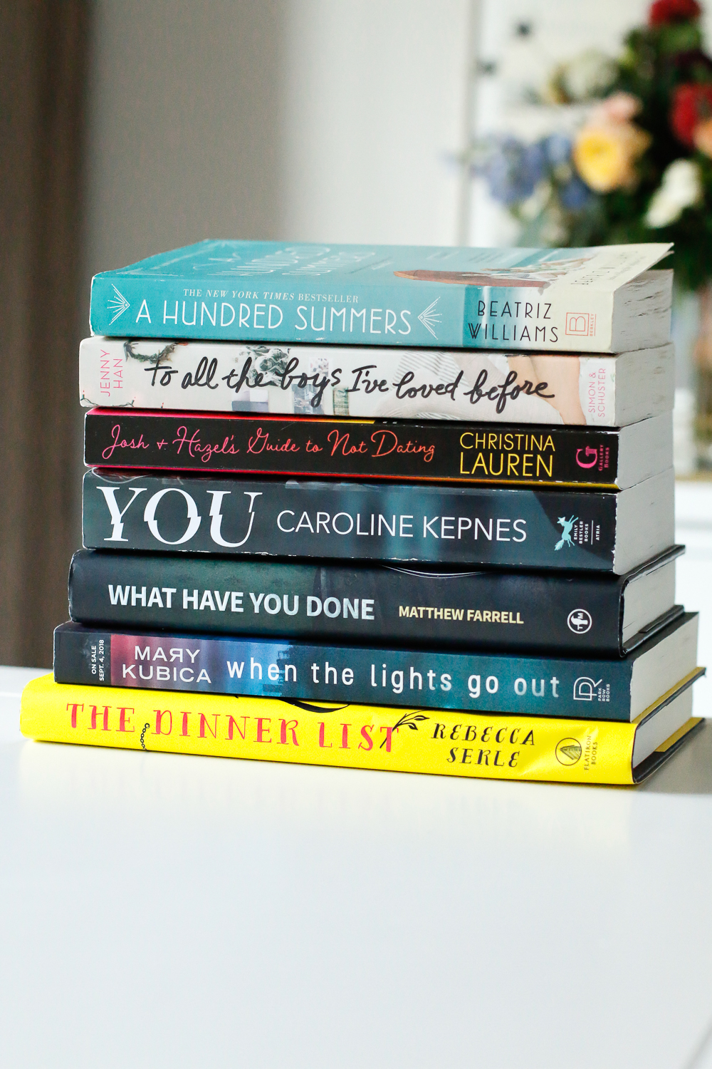 2018 book recommendations from a blogger