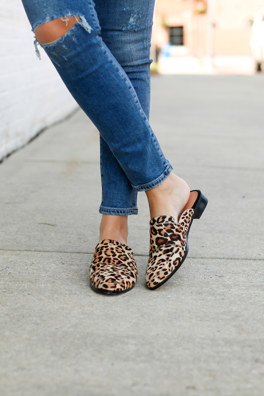 LEOPARD PRINT SLIDES FOR FALL