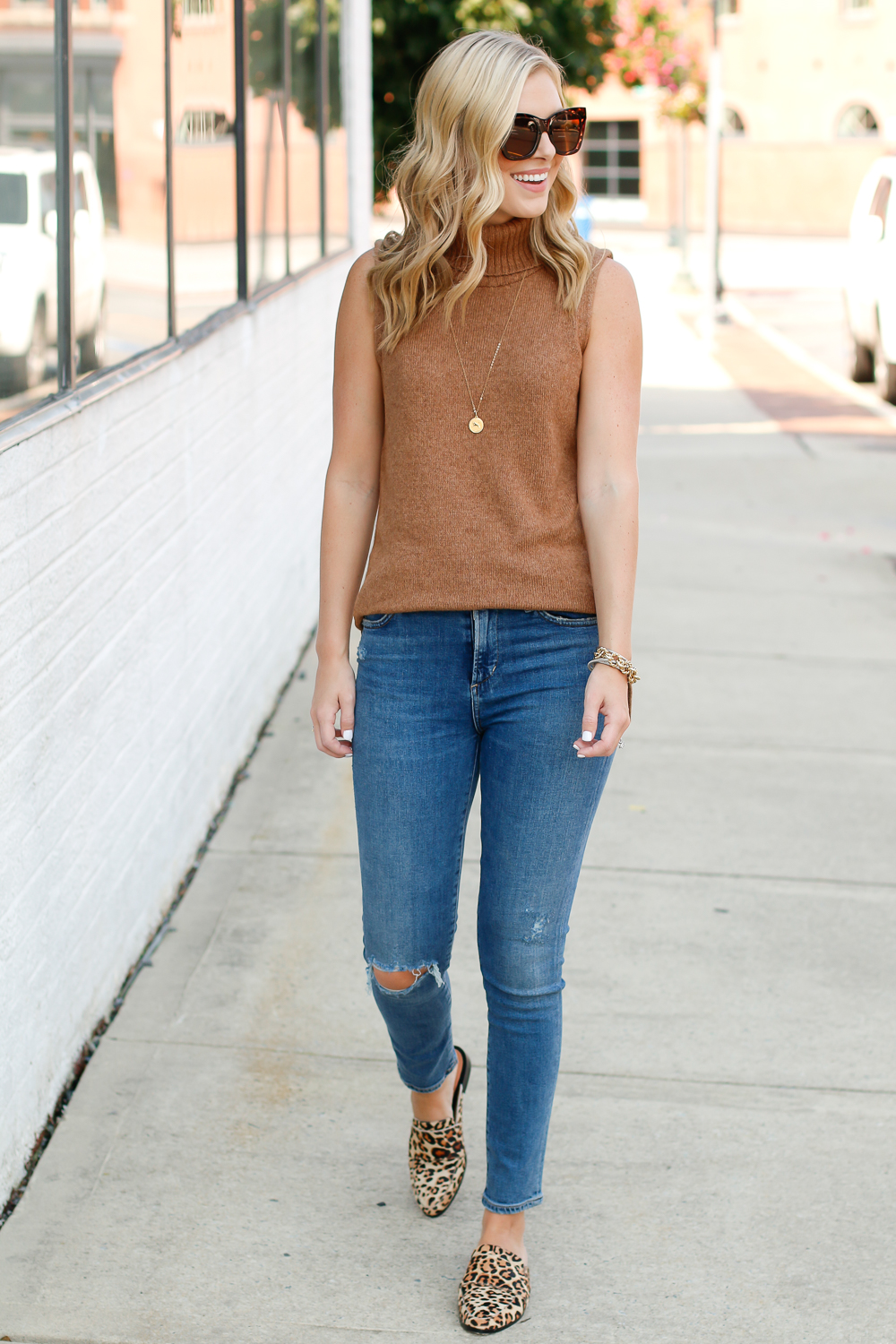 jcrew turtleneck sweater outfit