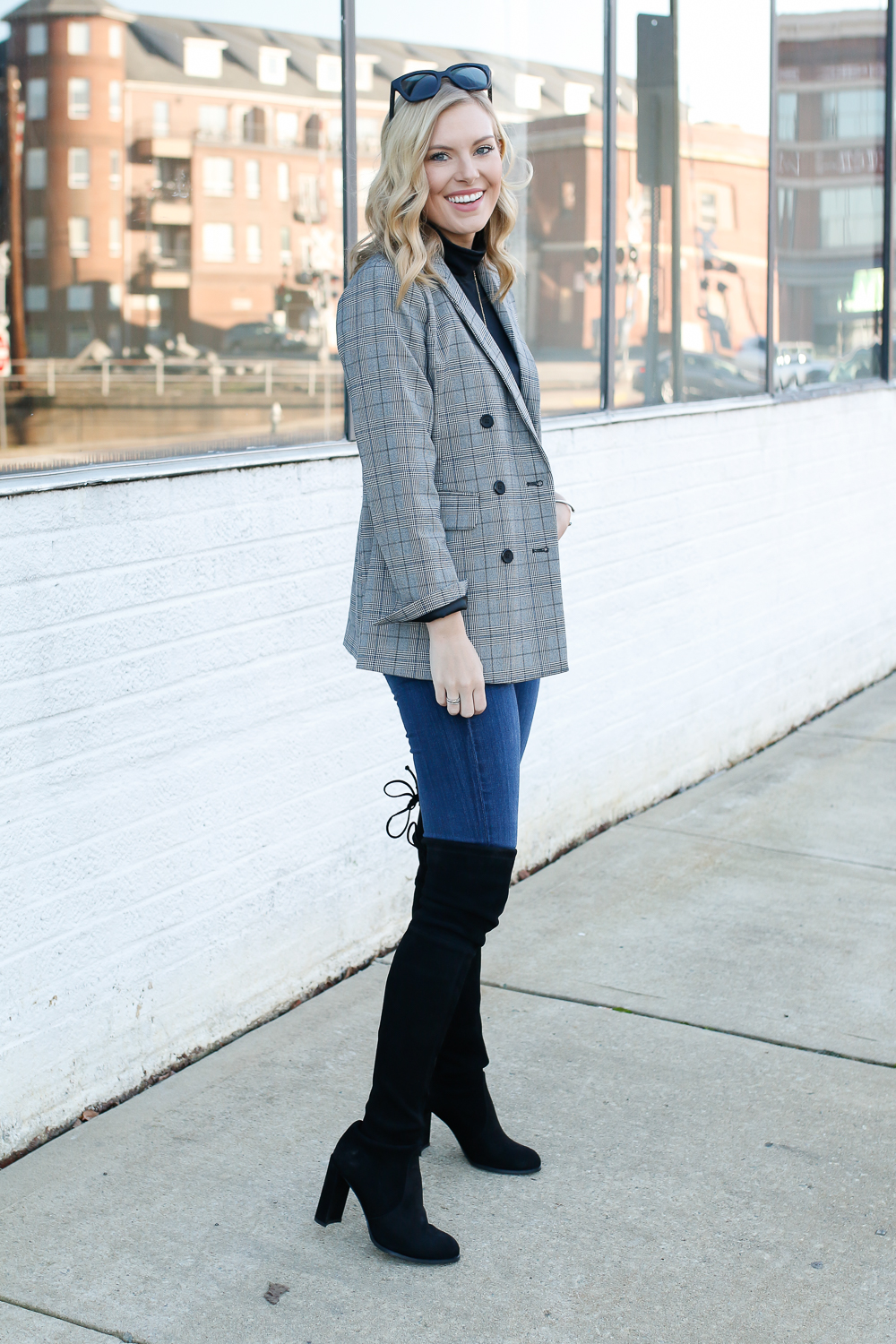 how to style a boyfriend blazer