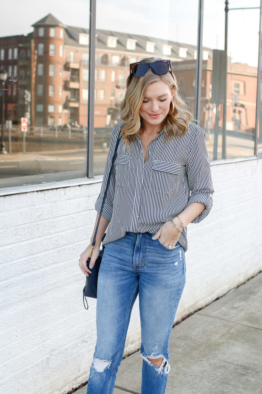 how to style stripes for spring