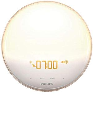 Philips wake up alarm clock amazon