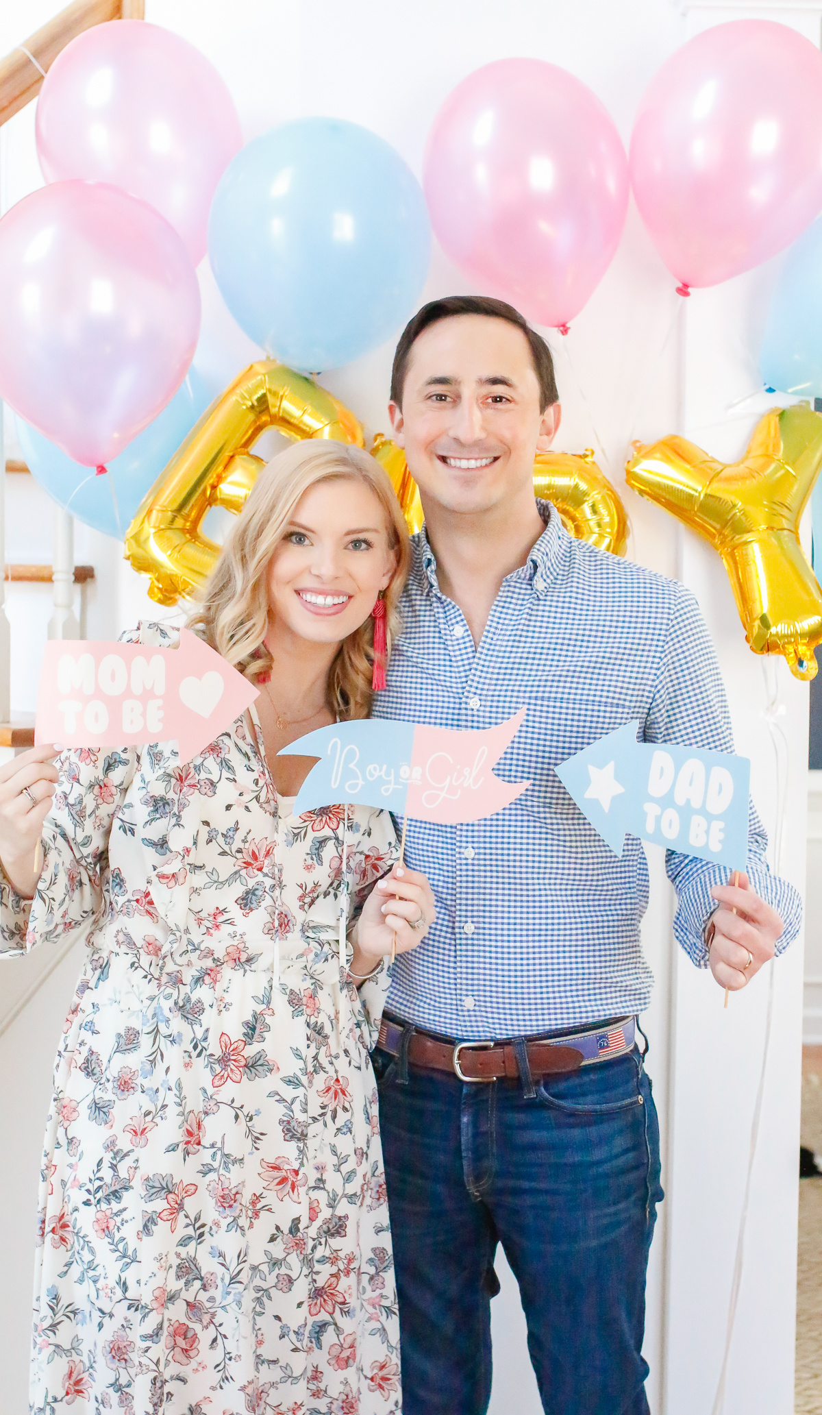 gender reveal party life with emily