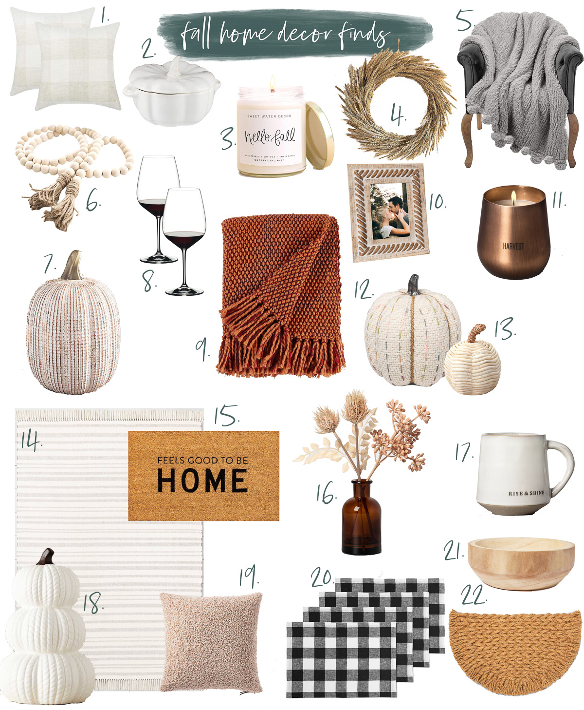 Fall Home Decor Finds Life With Emily