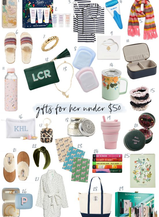 gift guide under $50 for her
