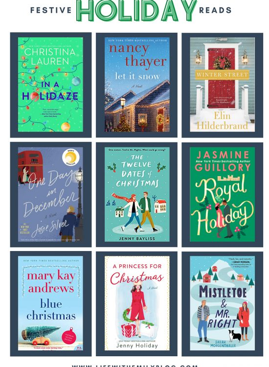 festive books to read for Christmas holiday 2020