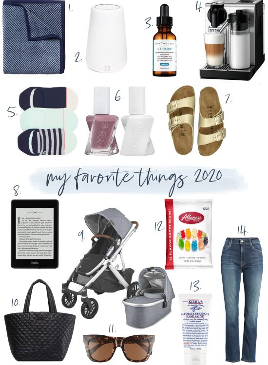 life with Emily favorite things 2020