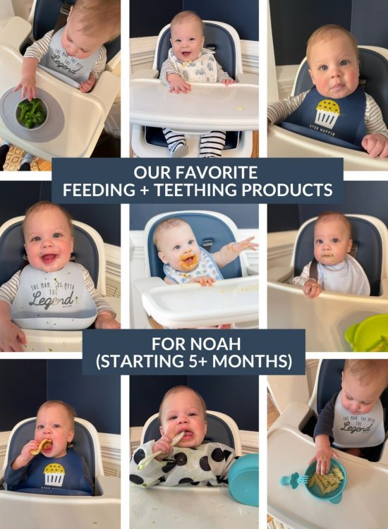 favorite feeding and teething products