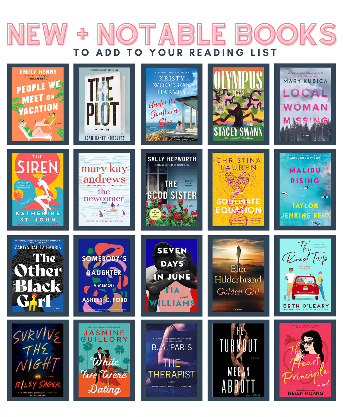 summer reading guide 2021 must read books