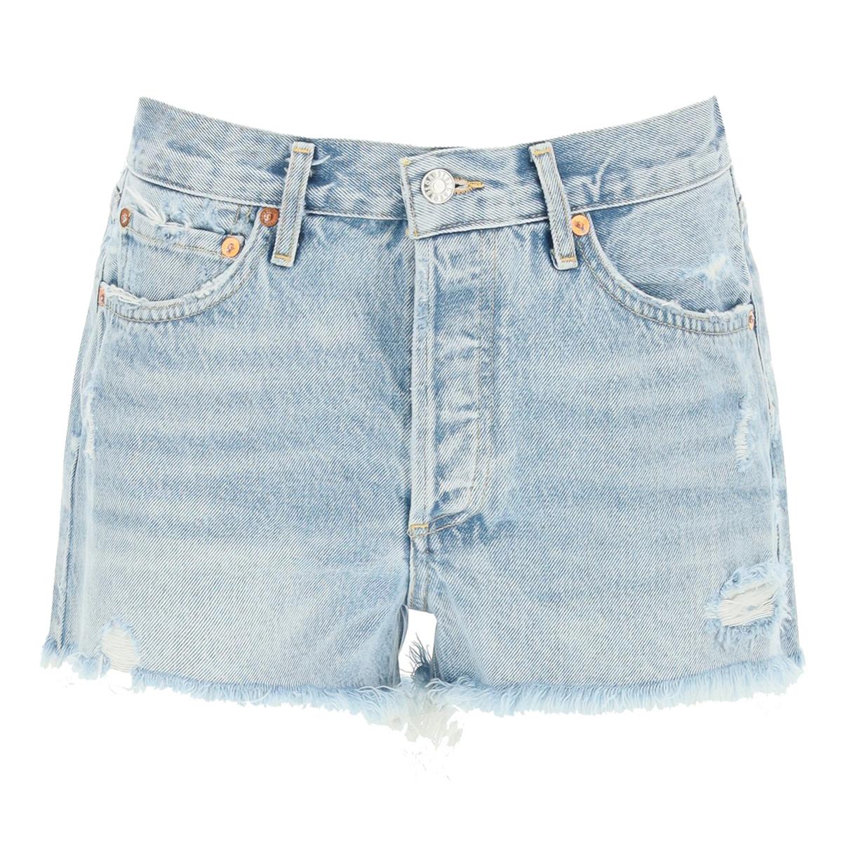 fav denim shorts