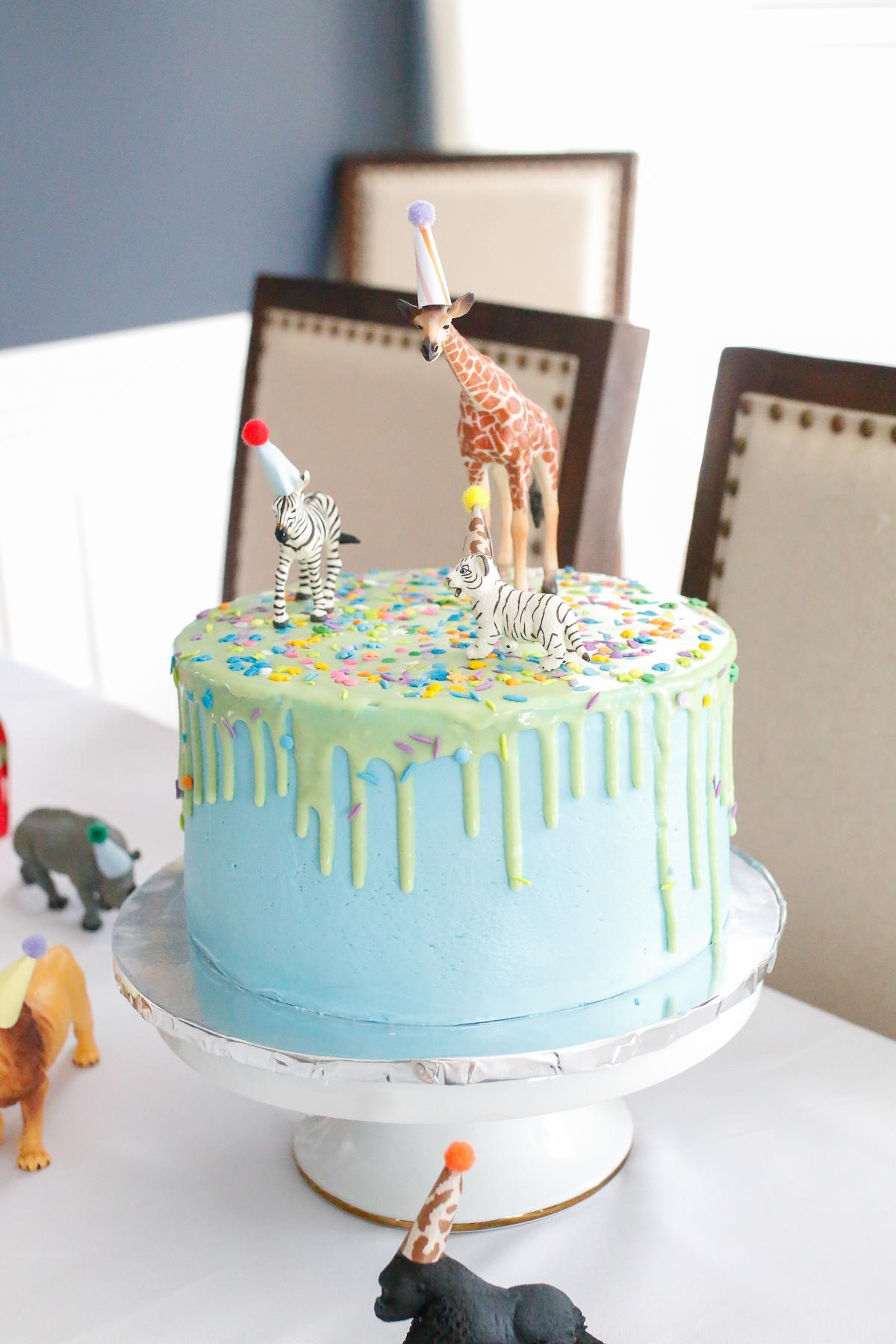party animal cake idea